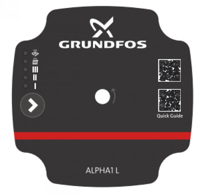 Grundfos Alpha1 L - табло за управление